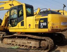 二手小松210-8挖掘机