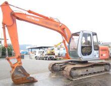 二手日立EX120挖掘机