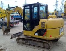 二手卡特306挖掘机