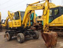 二手現代60W-7挖掘機