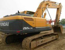 二手现代265-9挖掘机