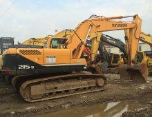 二手現代215-9挖掘機
