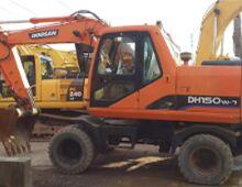 二手斗山DH150W挖掘机