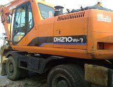 二手斗山DH210W挖掘机
