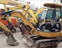 二手卡特303挖掘机