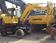 二手现代60W-7挖掘机