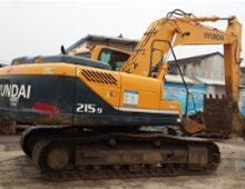 二手现代215-9挖掘机