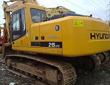 二手現代215LC-7挖掘機
