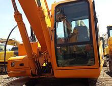 二手现代215LC-7挖掘机