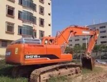 二手斗山215-7挖掘机