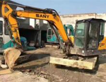 二手三一SY55-9挖掘机