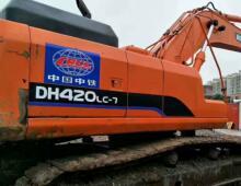 二手斗山DH420LC-7挖掘機