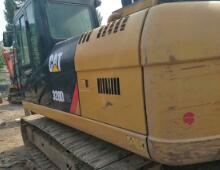 二手卡特320D2挖掘机