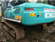 二手神钢380D挖掘机