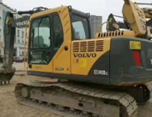 二手沃尔沃140挖掘机
