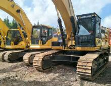 二手卡特340D2挖掘机