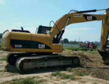 二手卡特323D挖掘机