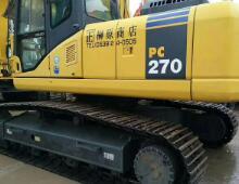 二手小松PC270-7挖掘机