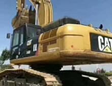 二手卡特340D挖掘机