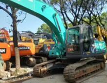 二手神鋼SK260LC-8挖掘機