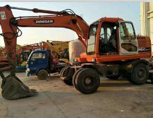 二手斗山DH150W-7挖掘机