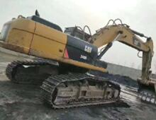 二手卡特340D2L挖掘机